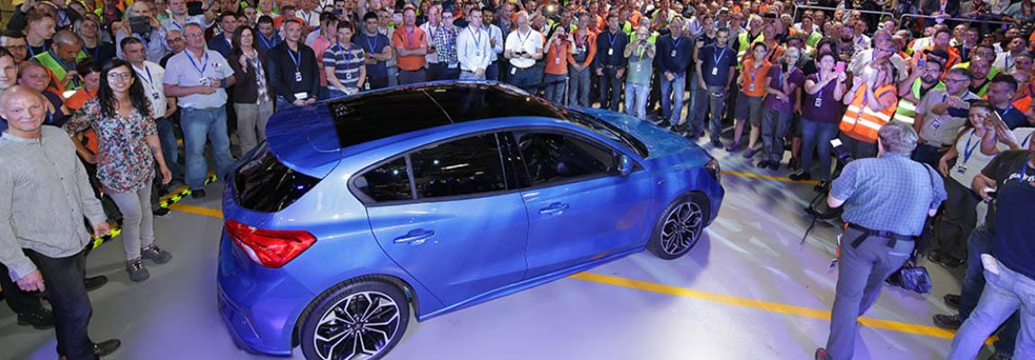 Productie nieuwe Ford Focus van start incl. video