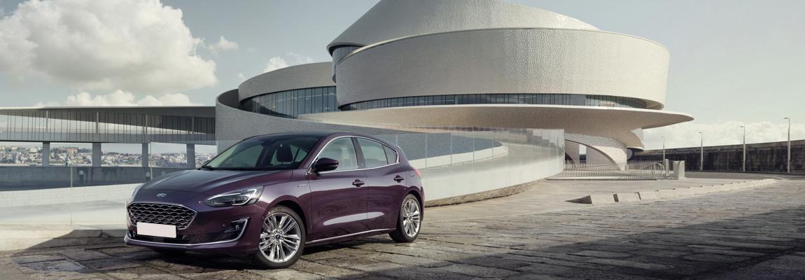 Gloednieuwe Ford Focus voorzien van div. nieuwe cameratechnologieën