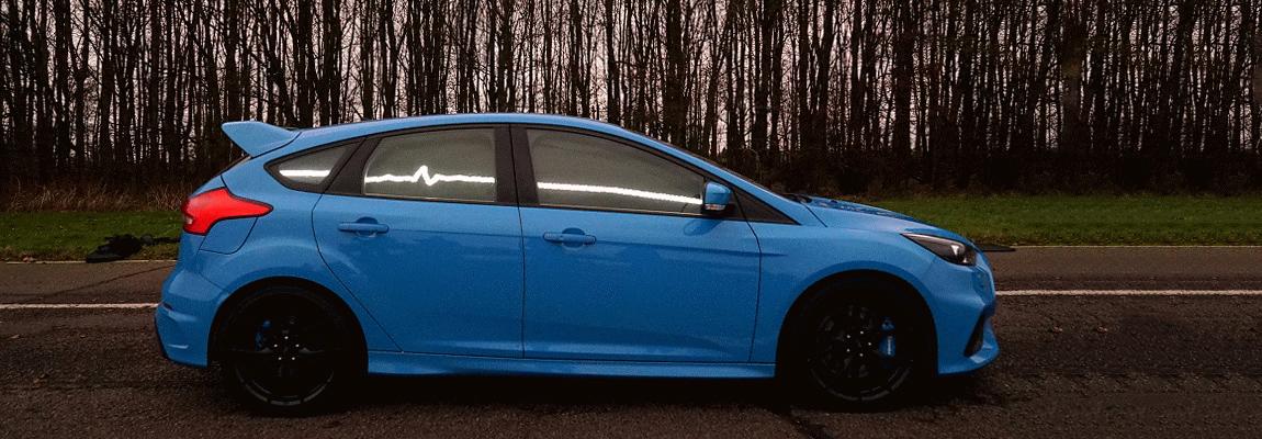 Autoweek doet rondje Ford Focus RS BuzzCar