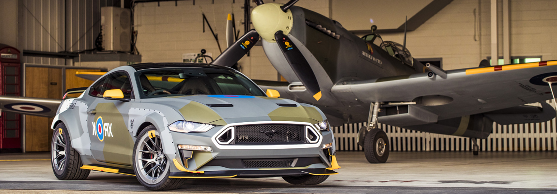 Eagle Squadron Mustang GT en '68 Mustang Bullitt op Goodwood