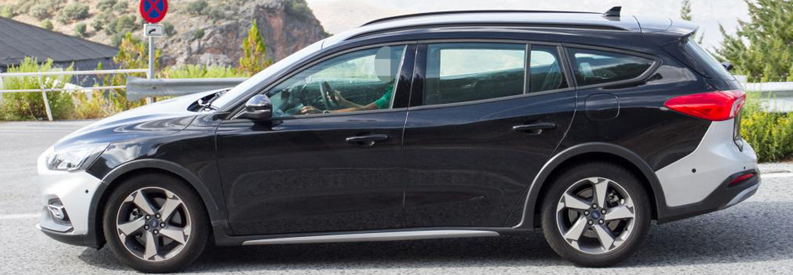 Testende 2019 Ford Focus Active Wagon gespot