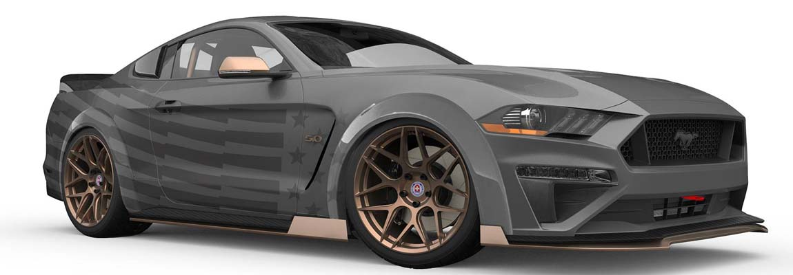 5 Ford Mustang Muscle Cars op de SEMA 2018