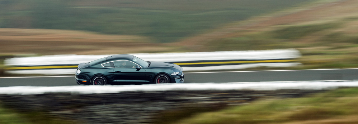 Europe's Greatest Driving roads met de Ford Mustang Bullitt