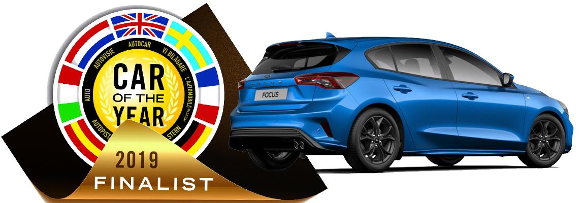 Nieuwe Ford Focus genomineerd voor Car of The Year 2019