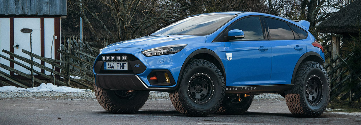 Liefhebbers voor een Ford Focus RS-SUV?