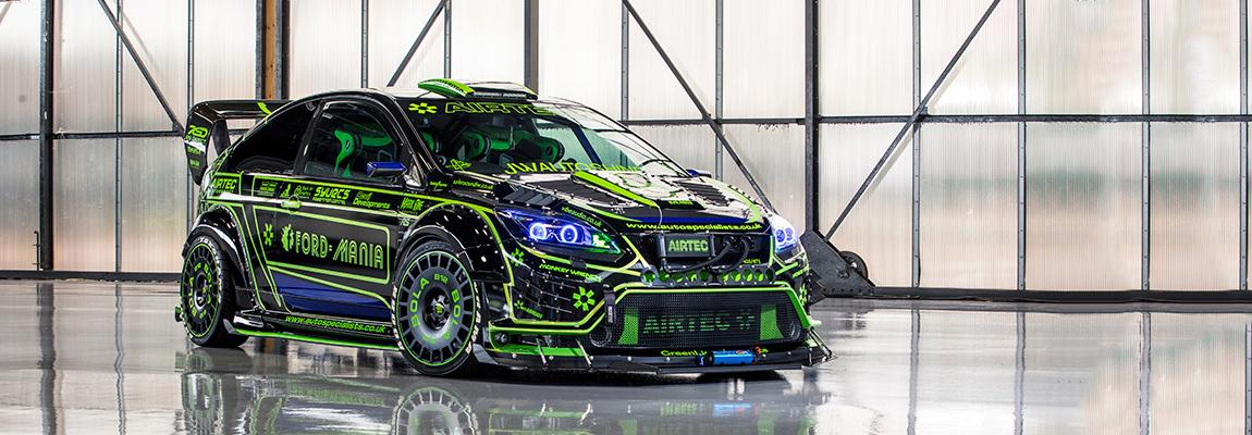 Een kijkje onder de huid van Rich Fox's gestoord getunede Ford Focus RS Mk2