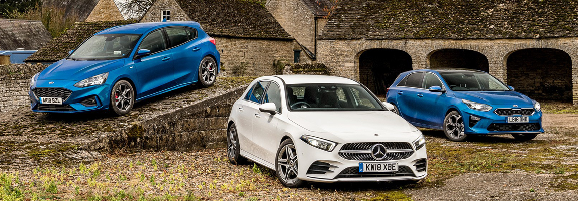 Trio test | Mercedes A-Class vs Ford Focus ST-Line vs Kia Ceed