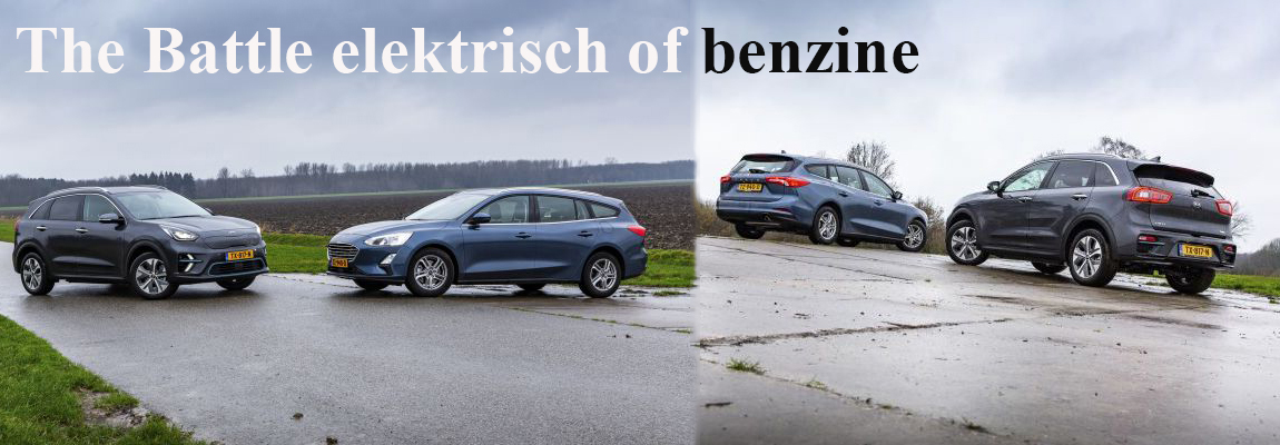 The Battle elektrisch of benzine, Focus Wagon 1.0 EcoBoost Trend Edition Business v.s. Kia e-Niro