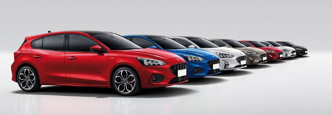 Nieuwe Ford Focus bestverkocht model eerste kwartaal 2019