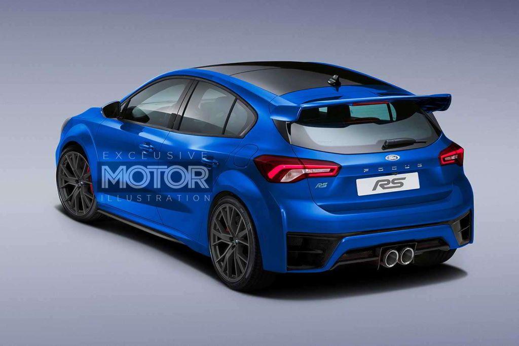 Mk4 generation Ford Focus RS Photoshop Design - www ...