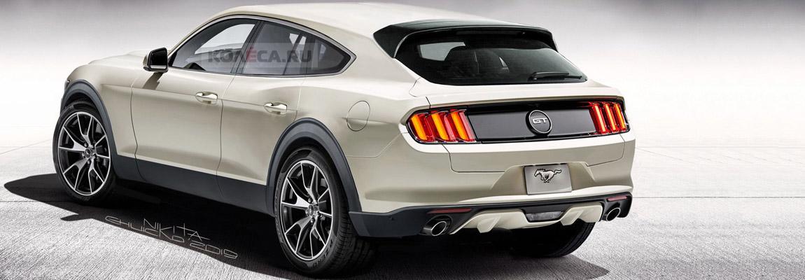 Zal de Mustang geïnspireerde elektrische SUV er zo uit zien?