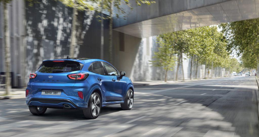nieuwe ford puma verleidelijke crossover met laag verbruik dankzij mild hybride techniek www