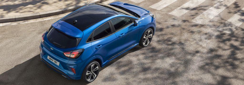 Nieuwe Ford Puma, verleidelijke crossover met laag verbruik dankzij mild hybride techniek
