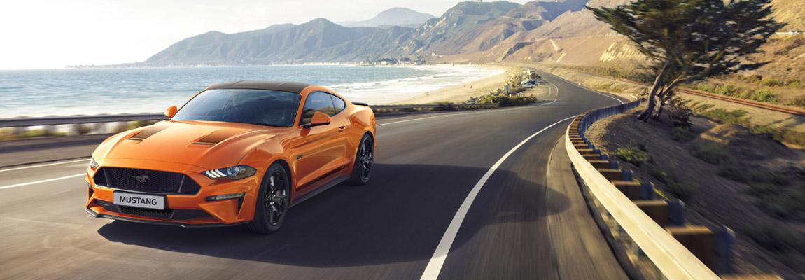 Jubileumversie Ford Mustang55 & de verbeterde Mustang 2.3 EcoBoost