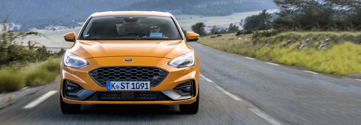 Nieuwe Ford Focus ST verkent de N304 in de Portugese bergen