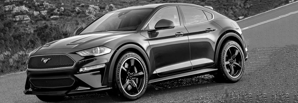NIEUWE Rendering | Ford Mustang-geïnspireerde elektrische SUV