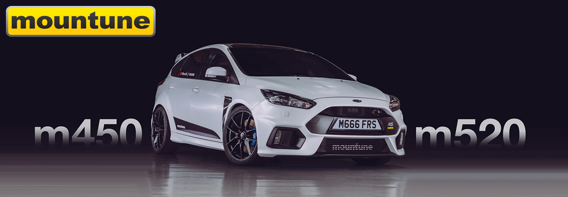 Mountune komt met Focus RS Mk3 m450 en 520 MRX Power Upgrade Kits