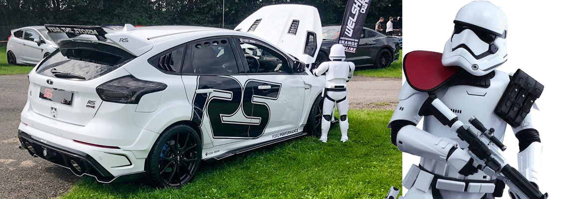 Welcome to the dark side, Stormtrooper Ford Focus RS Mk3