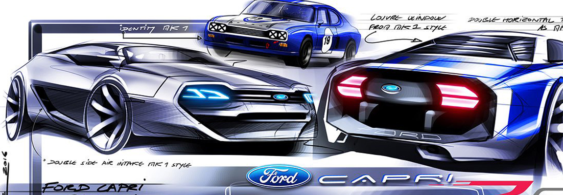 Word ook de Ford Capri nieuw leven ingeblazen?