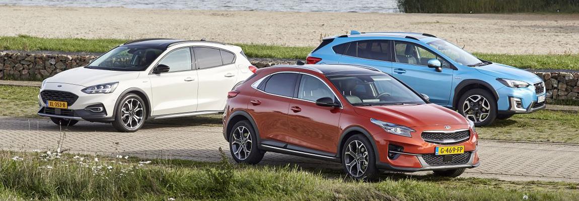 Kijk & lees tip | Ford Focus Active vs Kia Xceed vs Subaru XV
