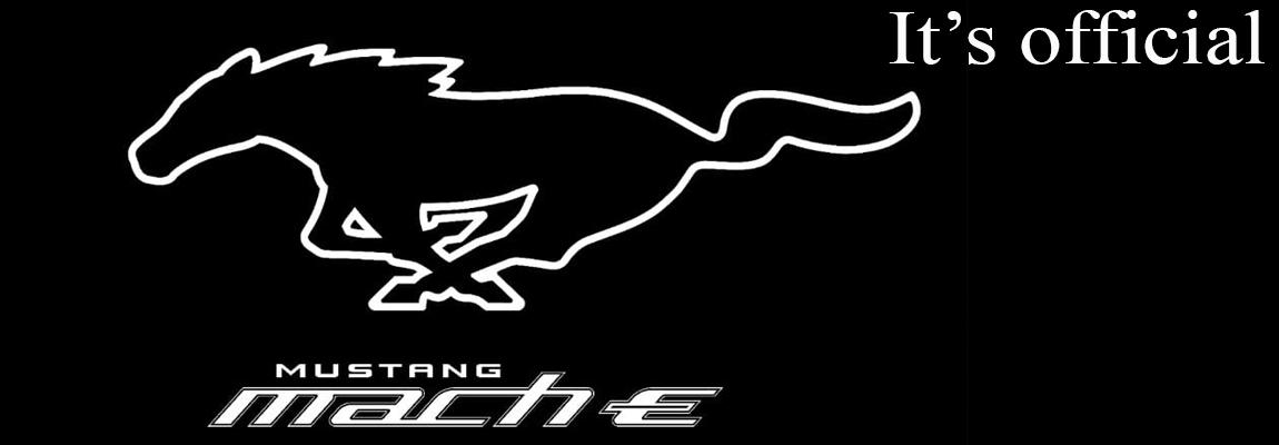 Officieel | de nieuwe all-electric Ford Mustang heet Mach-E | UPDATE