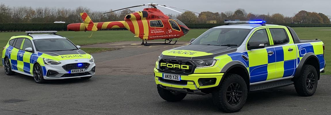 Engelse Politie kiest wederom voor de sportiefste Fords
