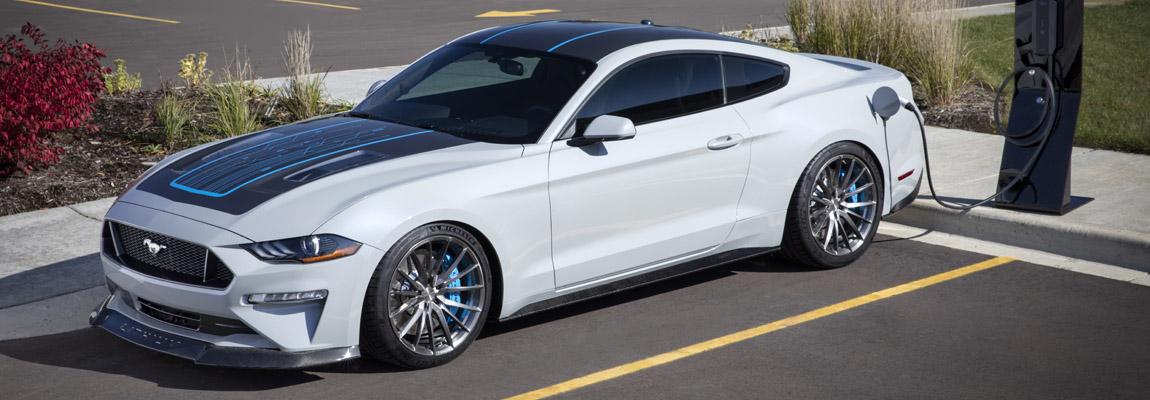 Webasto & Ford ontwikkelen 'Lithium' batterij voor 'Elektrische Muscle Car' de Mustang