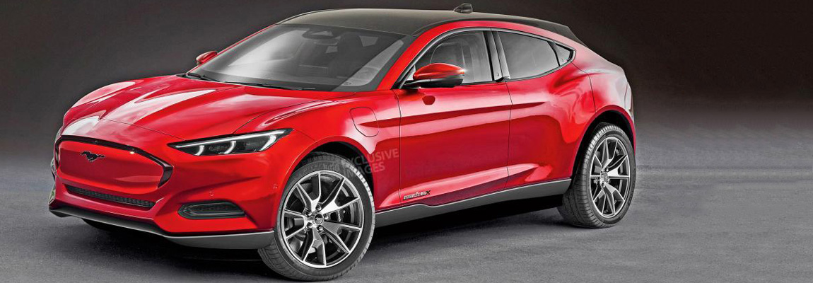 Ford Mustang Mach-E-reeks uitgebreid met een kleinere SUV?
