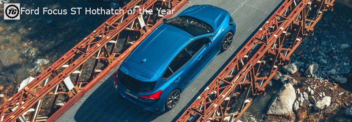 Ford Focus ST gaat er met de Topgear Hot Hatch van het jaar 2019 award vandoor