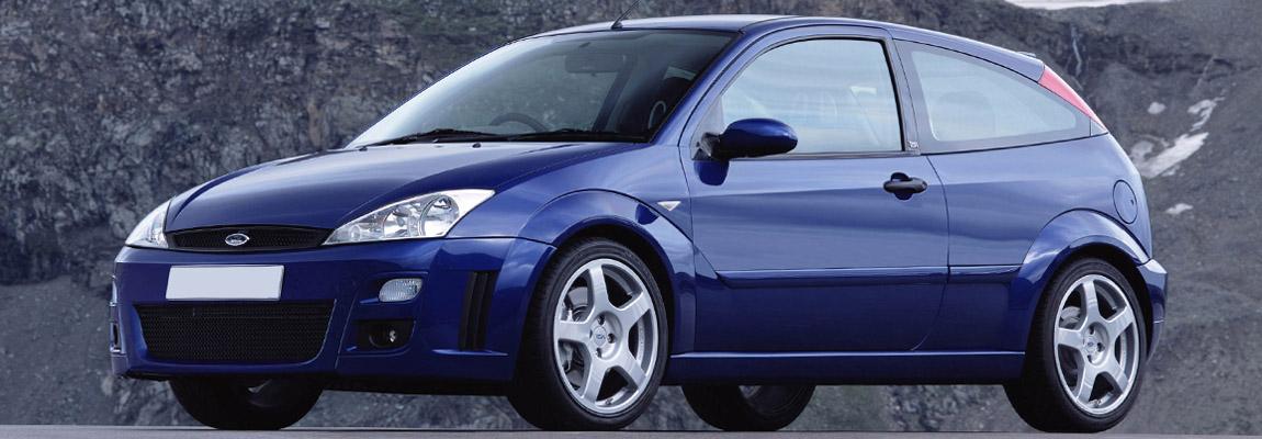 De geschiedenis van een icoon van het eerste uur de Ford Focus RS Mk1