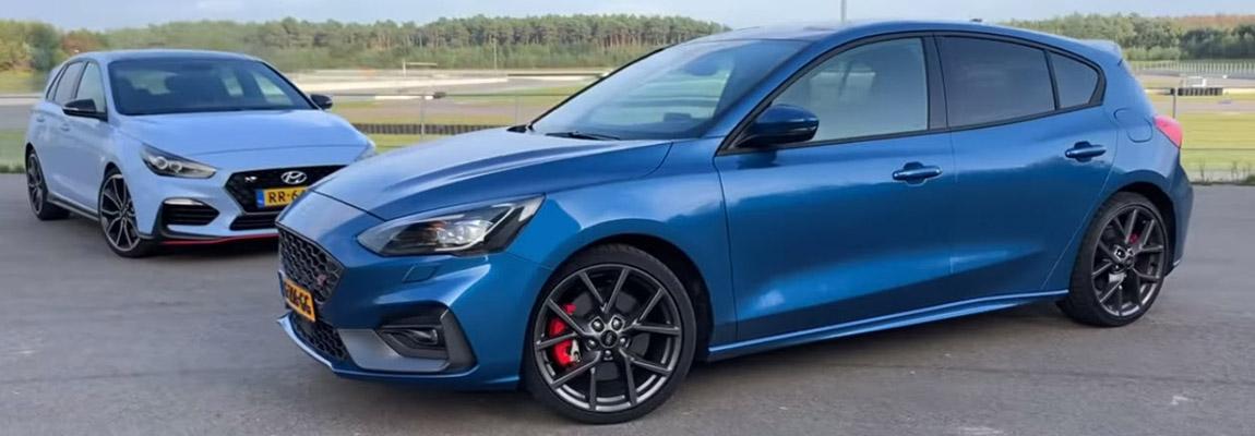 Ford Focus ST vs. Hyundai i30 N | Duo test door Autovisie | incl. Video