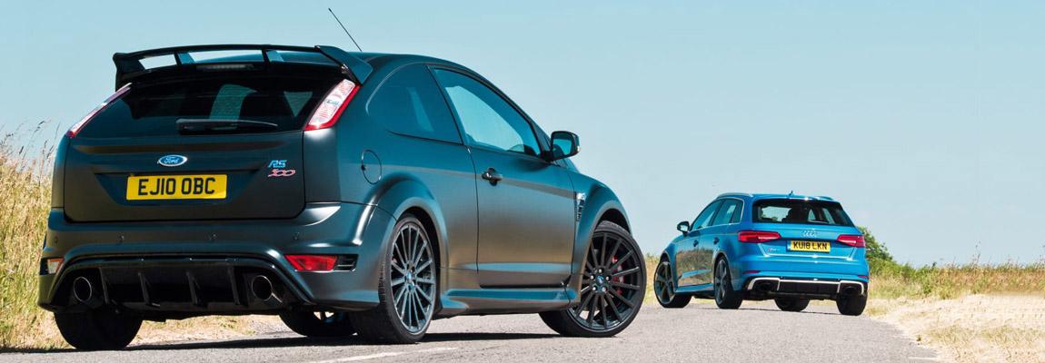 Gebruikt vs Nieuw | Ford Focus RS500 vs Audi RS3