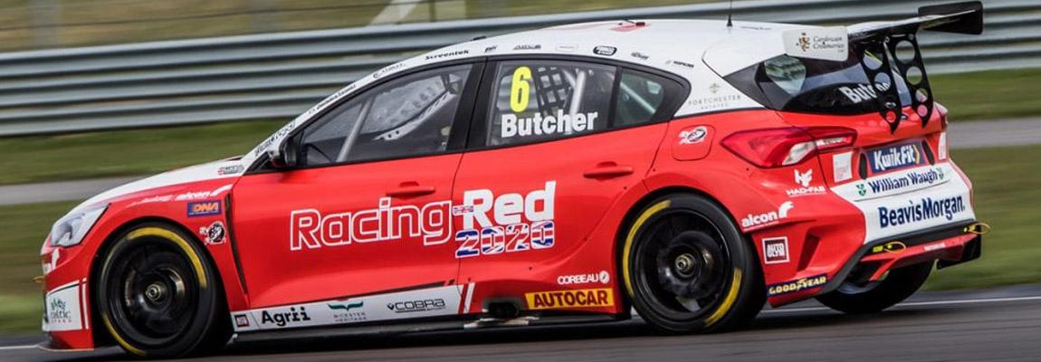 Solide media test voor Motorbase Performance Team BTCC 2020