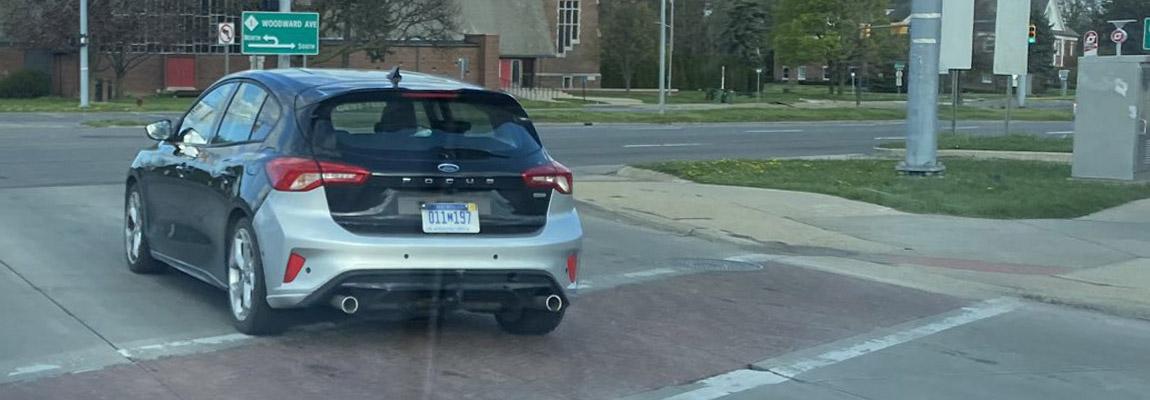 Prototype met de looks van de Ford Focus ST 2020, gespot in Amerika