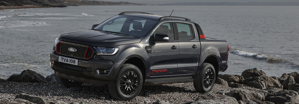 Speciale Limited-edition Ford Ranger Thunder maakt zijn debuut in Europa