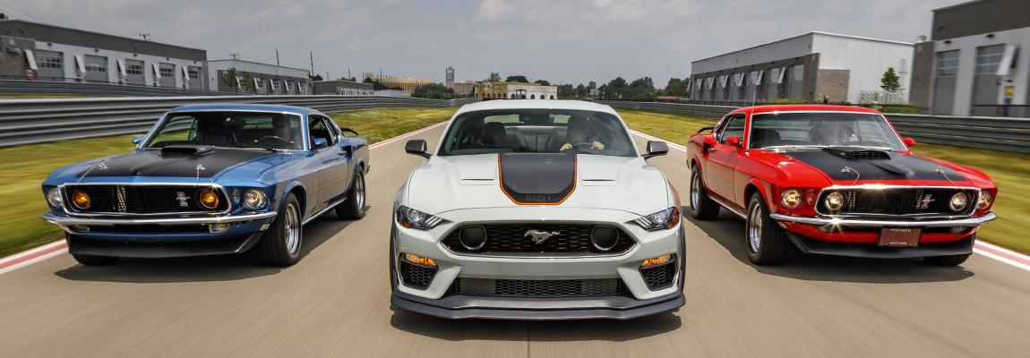 2021 Limited Edition Mustang Mach 1 'het toppunt van style en performance'