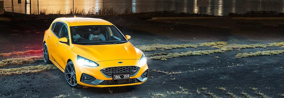 Ford Focus ST Mk4 aangekomen in Australië en komt de status-quo tussen de Hothatches verstoren