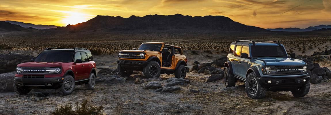 Onthulling | de 2021 Ford Bronco twee- vierdeurs en Sport uitvoering