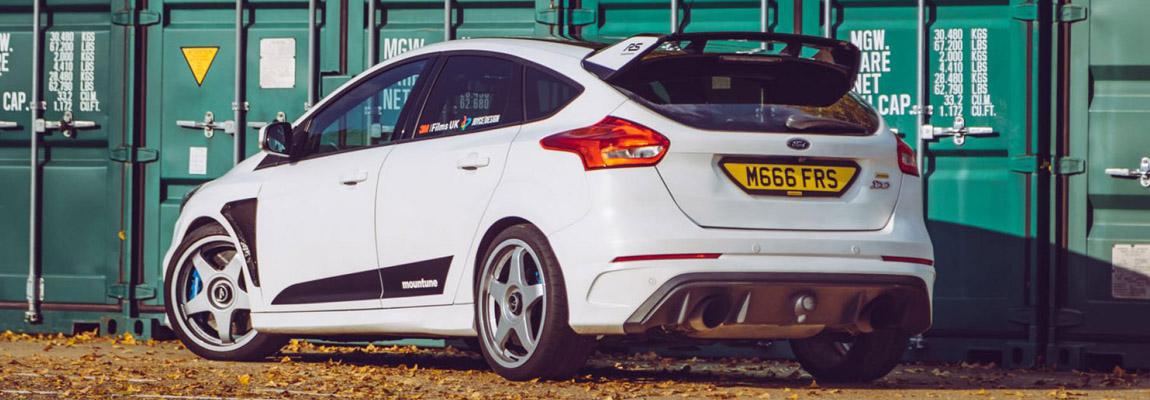 Review | Mountune's Ford Focus RS Mk3 520 pk gereden door TopGear UK