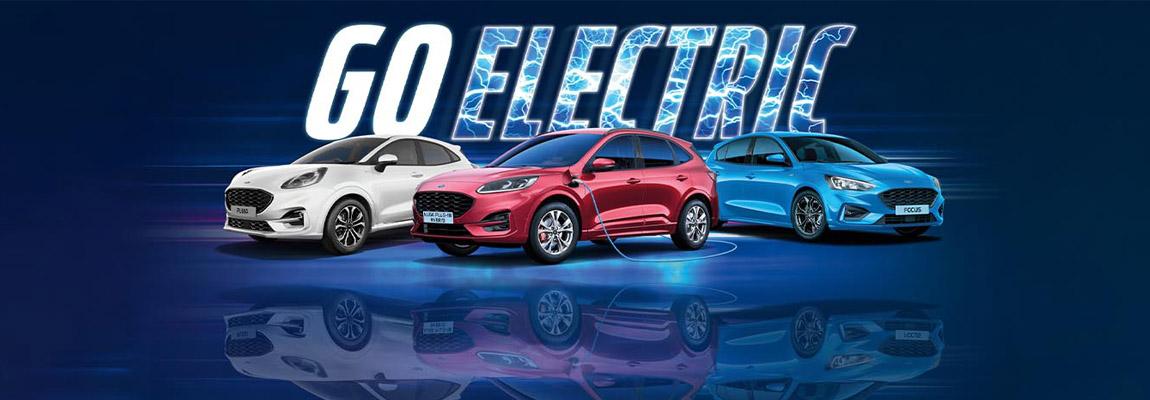 Ford Go Electric, evenement met alles over elektrificatie en Fords geëlektrificeerde aandrijflijnen