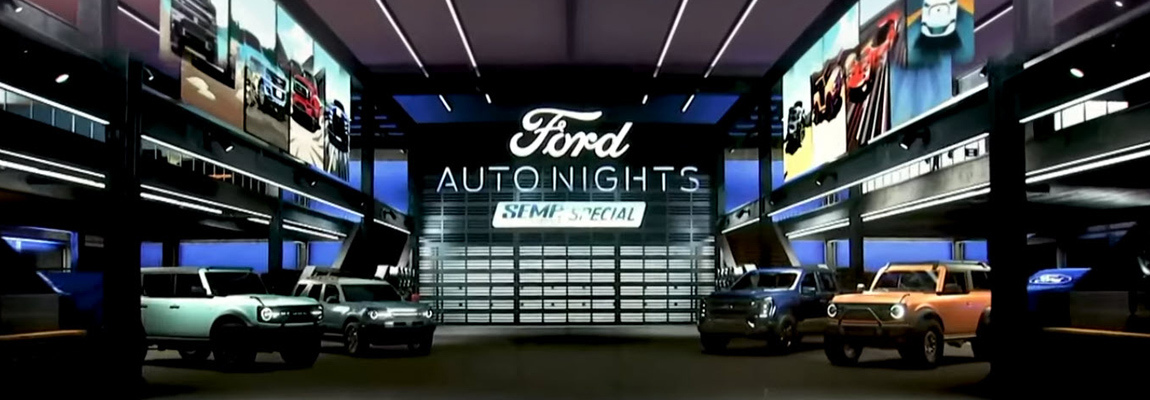 Ford Auto Nights – SEMA Show Special Webcast | inclusief video