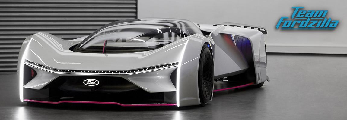 Ford bouwt winnend ontwerp Team Fordzilla-racecar de P1