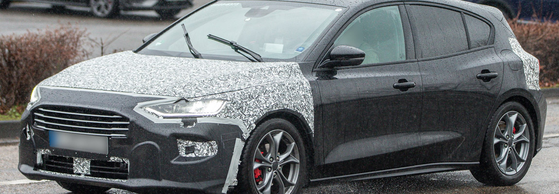 2021 Ford Focus facelift gespot met minimale camouflage – UPDATE | gespot 2021 Focus Wagon