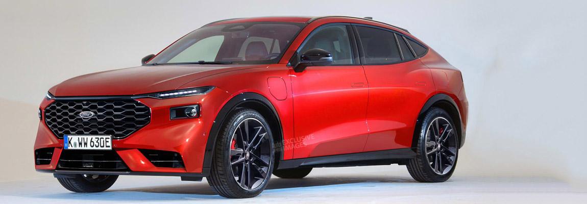 Nieuwe 2022 Ford Mondeo radicaal verandert in een SUV