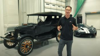 Video | NASCAR Driver Joey Logano shows his Ford collection