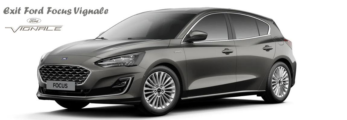 Ford Focus Vignale vanaf april niet meer als 'rijkelijk uitgerustmodel' leverbaar
