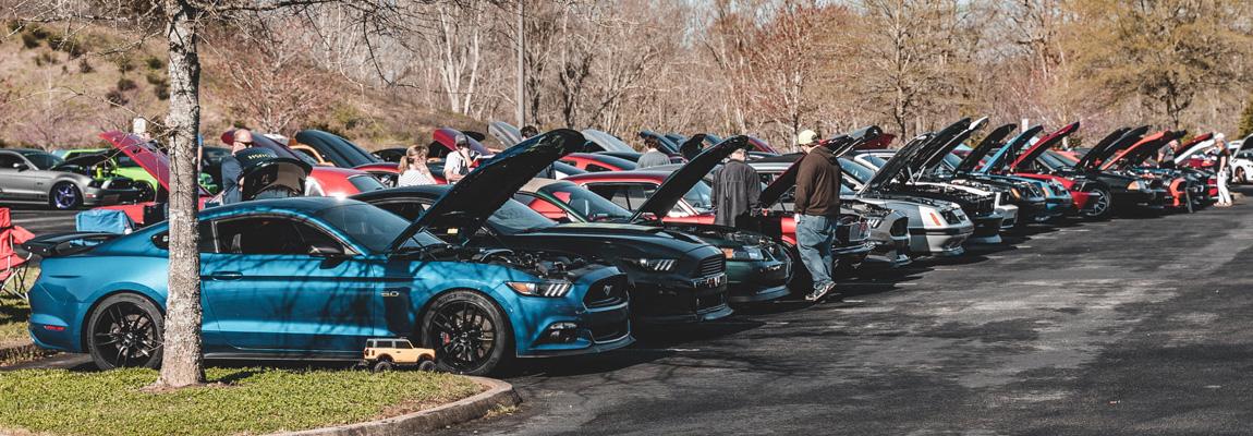 Jaarlijkse Steeda meet de #PITS2021 met zo'n 1000 Mustangs bijelkaar!