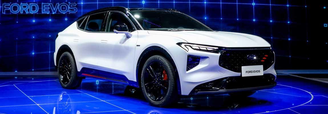 Ford EVOS debuteert op Autoshow Shanghai 2021 | China versnelt 2.0-plan voor elektrificatie