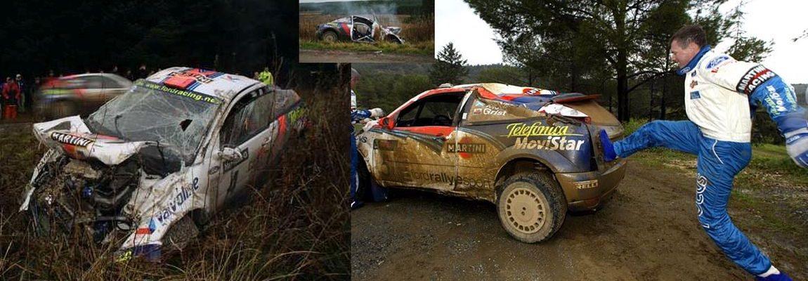 Te koop: Ford Focus RS WRC carrosserie delen van Colin McRea & Nicky Grist
