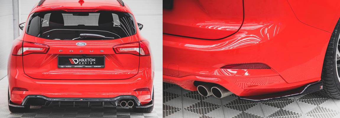 Maxton Design presenteert Street Plus splitterset voor de Ford Focus Mk4 ST-Line Wagon